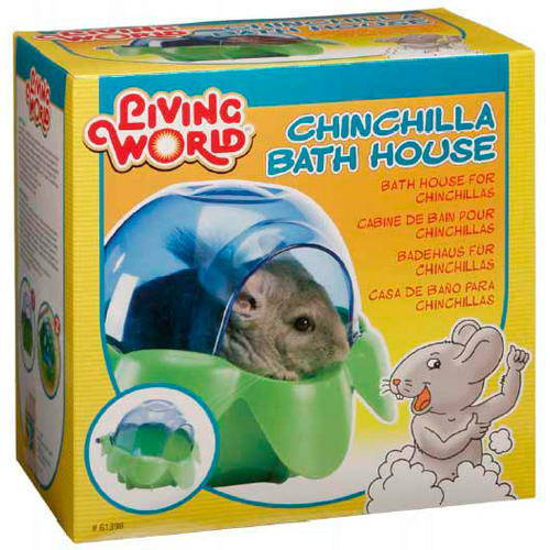 Banho para Chinchilas