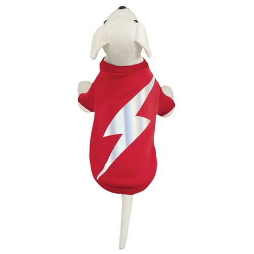 Camisola de Flash para cães vermelha