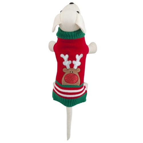 Camisola natalícia para cães Christmas Reindeer