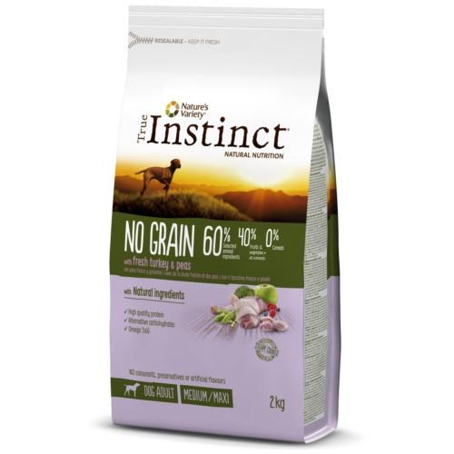 True Instinct No Grain Medium-Maxi com peru