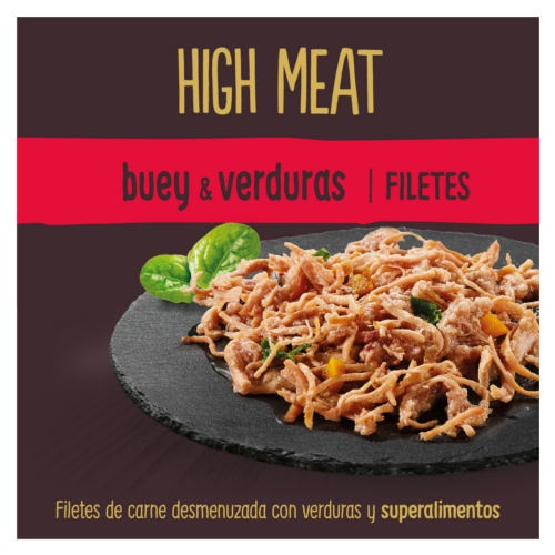 True Instinct Hight Meat com carne e verduras