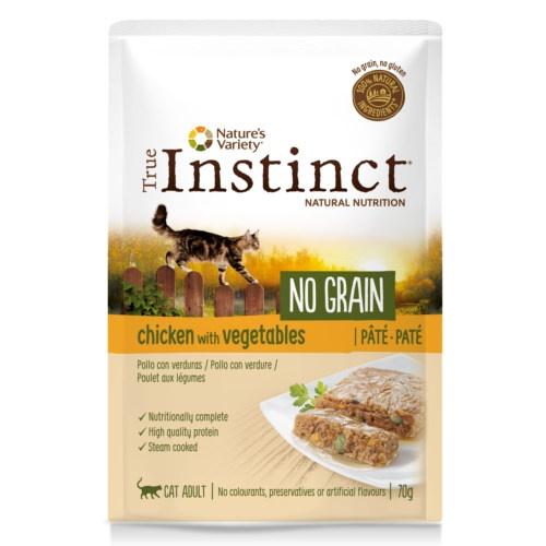 True Instinct No Grain patê de frango com verduras