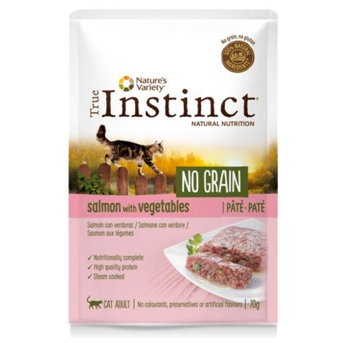 True Instinct No Grain patê salmão com verduras