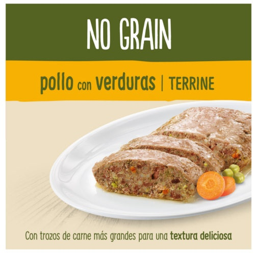 True Instinct No Grain Medium/Maxi Terrina frango