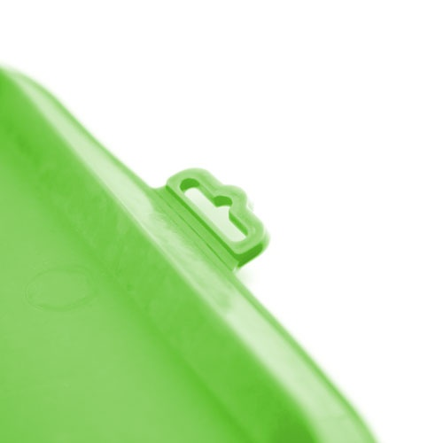 Tapete de borracha para comedouro TK-Pet verde