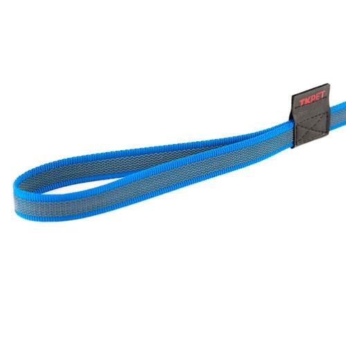Trela antiderrapante TK-Pet azul