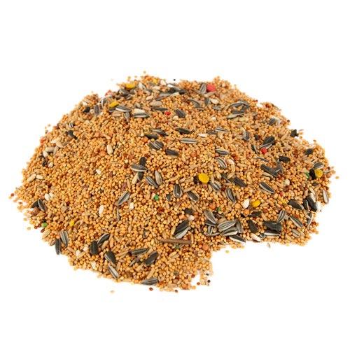 Alimento para agapornis e calopsitas Vivanimals balde