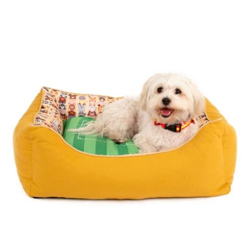 Berço campo de futebol TK-Pet Futpet para cães