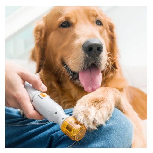 Lima de unhas elétrica para animais de estimação