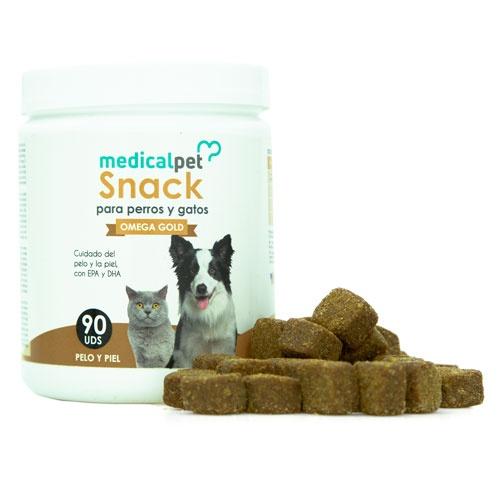 Snack Medicalpet Omega Gold cães e gatos