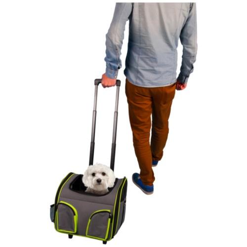 Trolley de transporte Fluo Trolley para cães e gatos