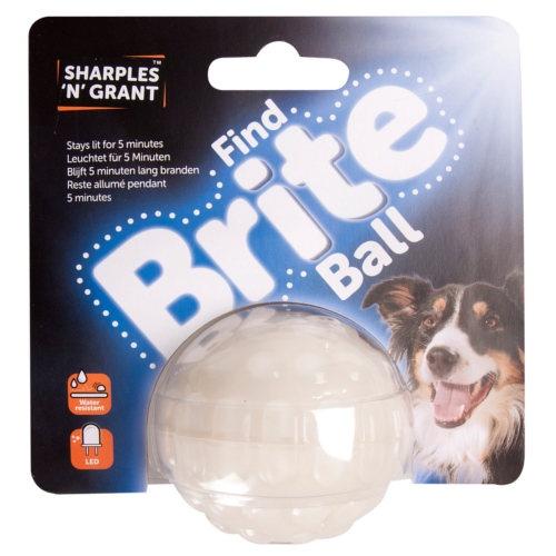 Bola brilhante led para cães