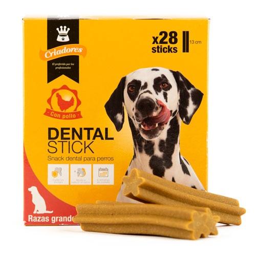 Criadores Dental Stick frango para cães grandes
