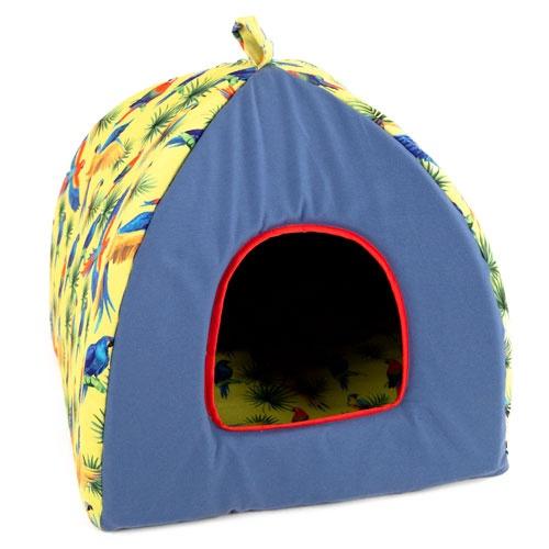 Cama iglu para cães e gatos TK-Pet Arara