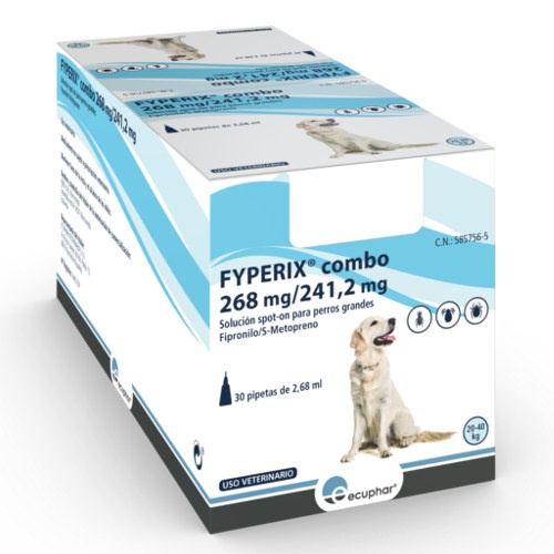 Pipetas FYPERIX Combo para cães