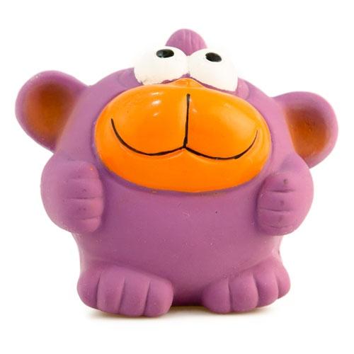 Brinquedo de látex TK-Pet Macaco