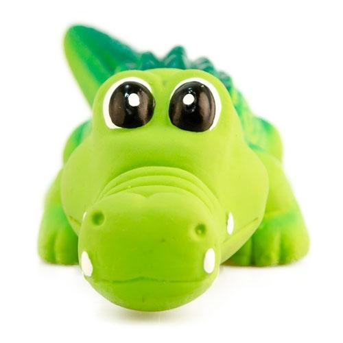 Brinquedo de látex TK-Pet Crocodilo