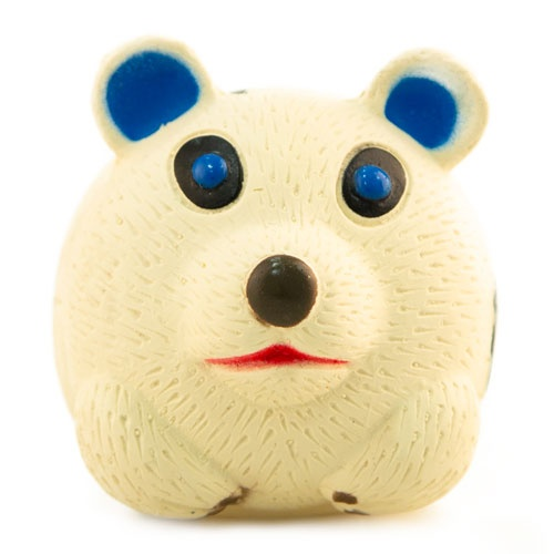 Brinquedo de látex TK-Pet Rato panda