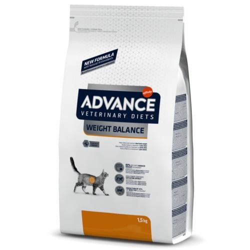 Ração Advance Weight Balance para gatos