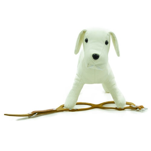 Peitoral de couro para cães Royale conhaque