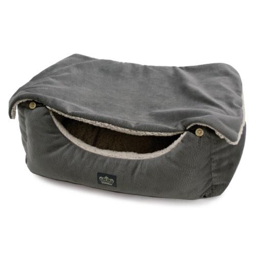 Berço Cover para cães e gatos cinzento