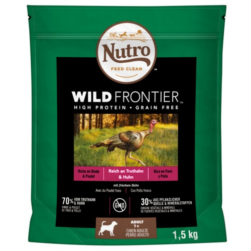 Nutro Wild Frontier Adult Peru e Frango