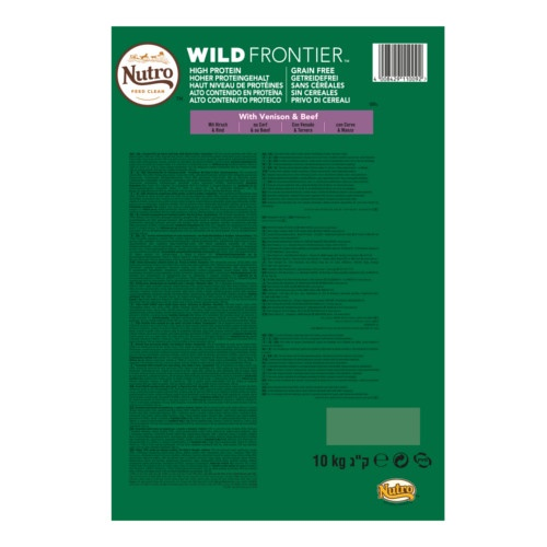 Nutro Wild Frontier Adult Large Veado e Vitela