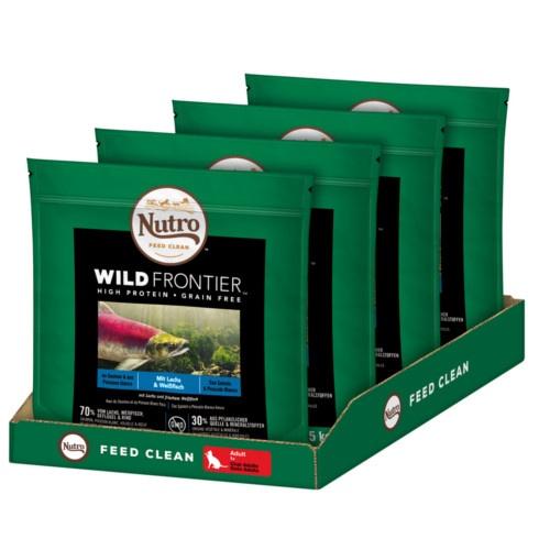 Nutro Wild Frontier Adult Salmão e Peixe para gatos