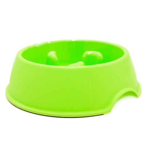 Comedouro anti-voracidade TK-Pet Bubba verde