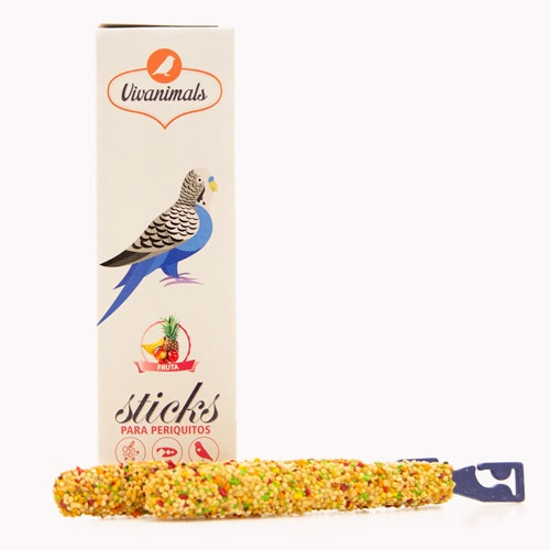 Barritas para periquitos Vivanimals Sticks Fruta
