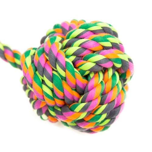 Brinquedo de corda TK-Pet bola com alça