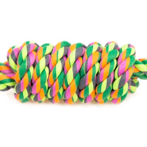 Brinquedo de corda TK-Pet boneco de treino com duas alças