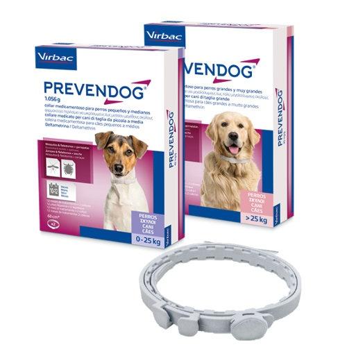 Prevendog coleira desparasitante para cães 60 cm
