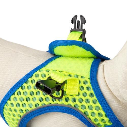 Peitoral de alta visibilidade TK-Pet Easy Click lima
