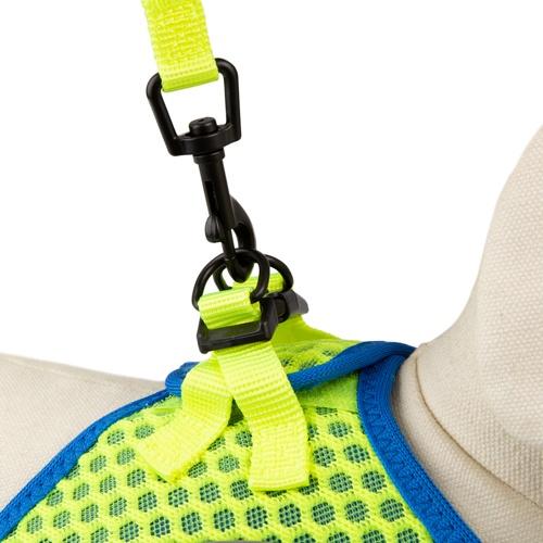 Trela de alta visibilidade TK-Pet Easy Click lima
