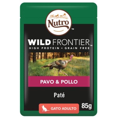 Patê Nutro Wild Frontier peru e frango para gatos