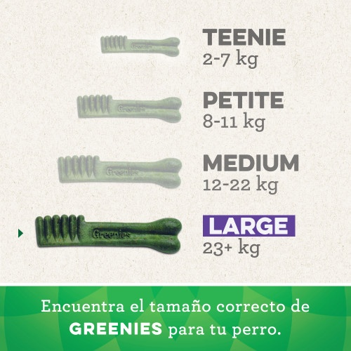 Osso Greenies Grain Free Large raças grandes