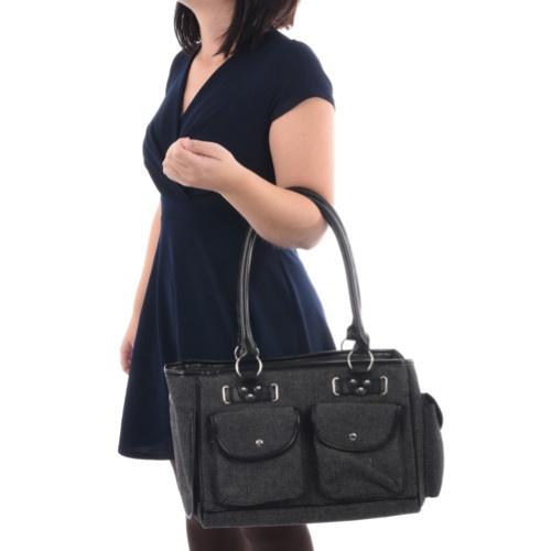 Mala de transporte Cilou com bolsos