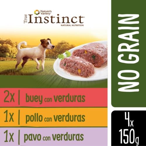 Multipack True Instinct No Grain Mini húmido
