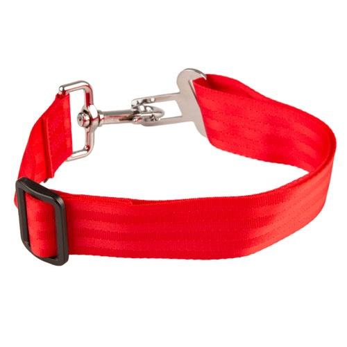 Adaptador cinto segurança XXL TK-Pet vermelho