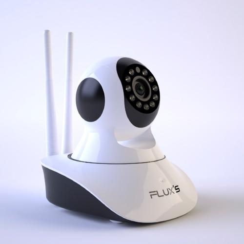 Câmara de vigilância para animais de estimação Flux's IP Wifi