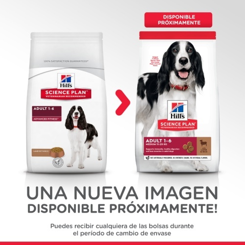 Hill's Canine Adult Advance Fitness Cordeiro e Arroz