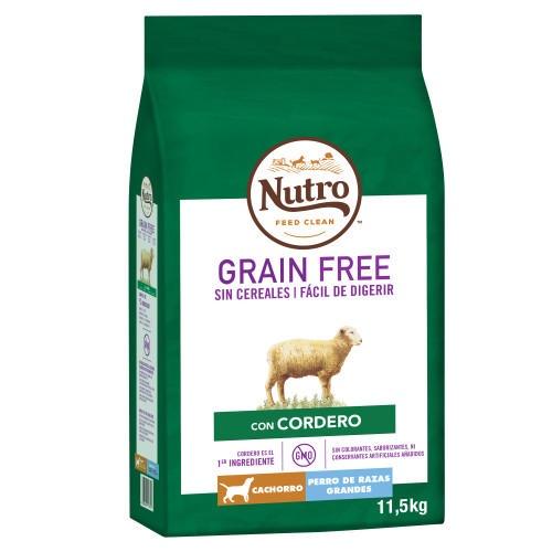 Nutro Grain Free cordeiro para cachorros grandes