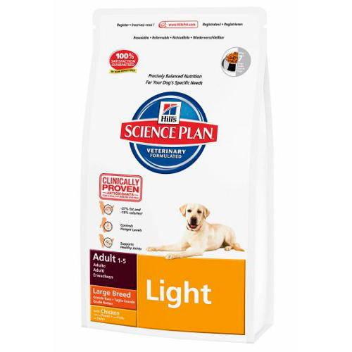 Hills Canine Adult Light Raças Grandes 12 Kg