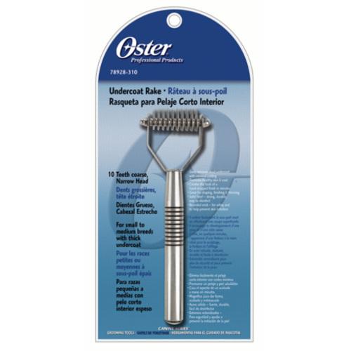 Rastelo corta-nós mediano de dentes grossos de Oster