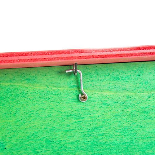 Ninho multicolor para agapornis