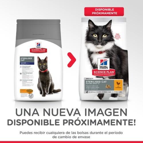 Hill's Feline Mature Adult 7+ Sterilised Cat Frango