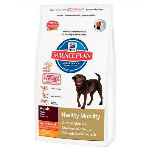 Hill's Canine Adult Healthy Mobility cães grandes com Frango