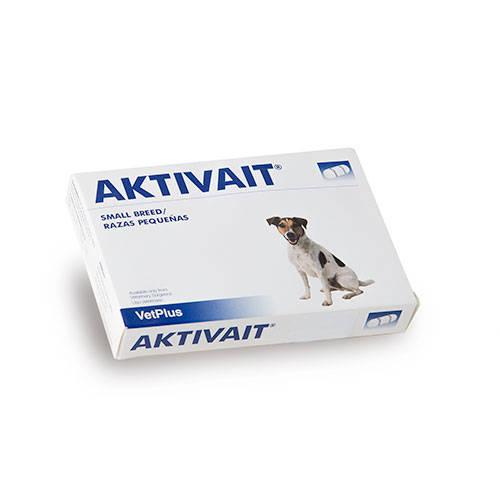 Aktivait suplemento contra o envelhecimento cerebral de cães