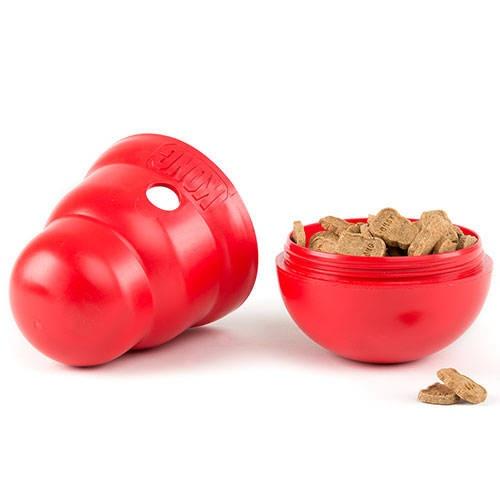Kong Wobbler Dispensador de guloseimas para cães